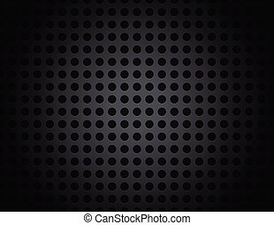 Black Metal Grid Pattern Background Illustration