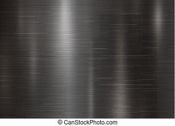 Black metal texture background vector illustration