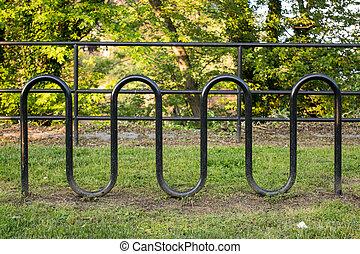 Black Modern Bike Rack