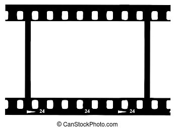 Black Movie Strip