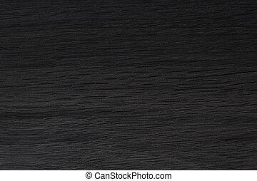 Black natural old black oak wood texture.