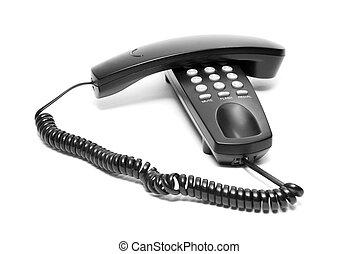 black office phone