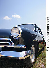 Black old car 1950s - Classic and vintage cars - classic ...