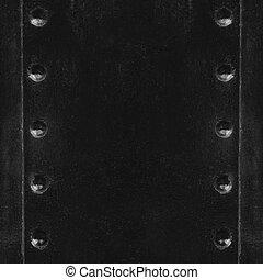 black old steel texture