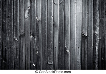 Black old wooden plank wall