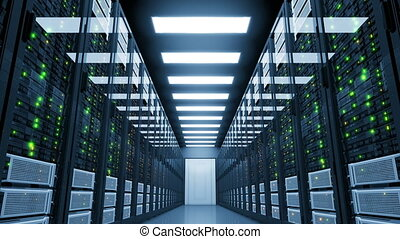 black-out, centre, room., moderne, computing., serveur, échec, nuage, critique, 3840x2160., électricité, ultra, données, hd, 4k