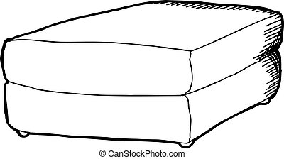 Foot Stool Clipart And Stock Illustrations 62 Foot Stool