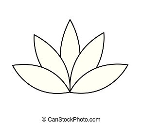 Water Lily Lotus Flower 3d Vector Icon