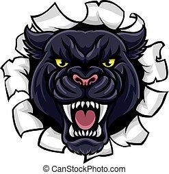 Black Panther Background Breakthrough