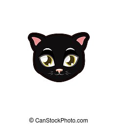 Black Panther portrait illustration