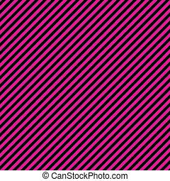black , papier, h.pink, diagonaal streep