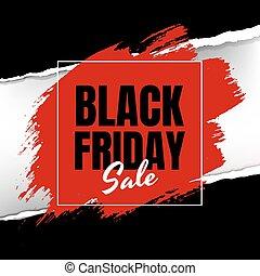 black , papier, spandoek, verkoop