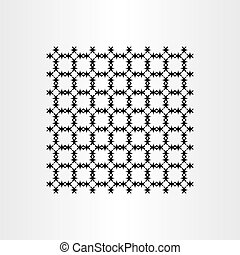black pattern background abstract vector element
