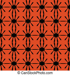 Black pattern geometric seamless