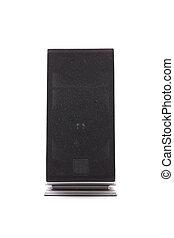 Black pc speaker.