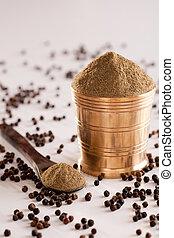 Black Pepper powder. - Black Pepper powder - It is a type...