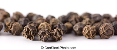 Black peppercorn, Macro shot, shallow DOF.