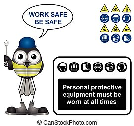 Black Personal Protection Equipment