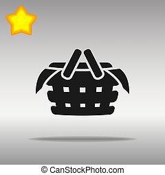 black Picnic Icon button logo symbol concept high quality