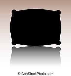 Black Pillow icon.
