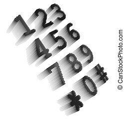 Black pixel icon-like mage of digital phone keypad
