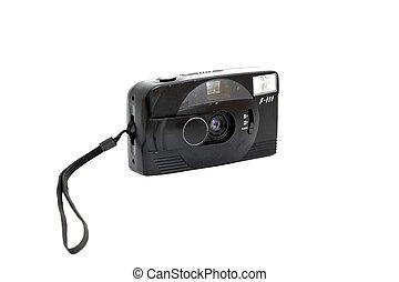 film camera - Black plastic film camera
