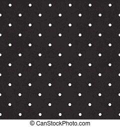 Black polka dot background