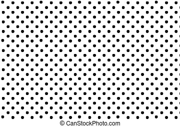 Black polka dots digital creative abstract texture pattern on white background. Design element.