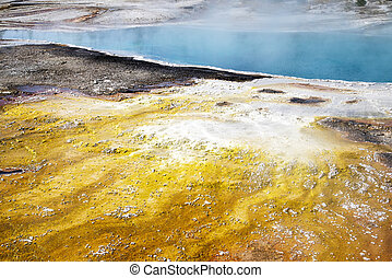 Black Pool in Yellowstone