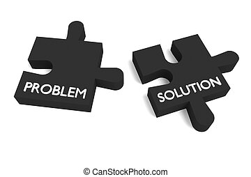 Black puzzle, problem and solution