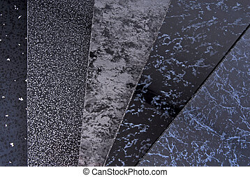 black pvc plastic cladding panel samples