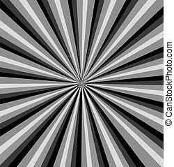 Black ray background