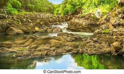 Black River Gorges in Mauritius