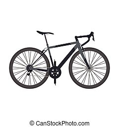Road Bike Road Bike Vector Illustration