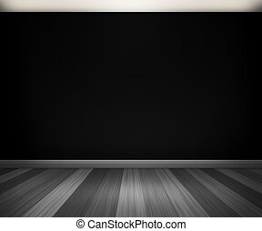 Black Room Background