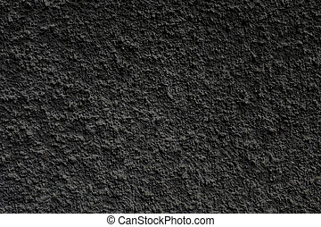 black rough wall texture