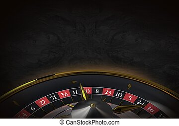 Black Roulette Background