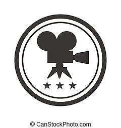 black round film award