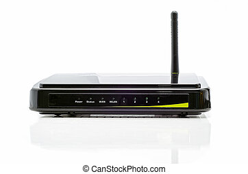 Black router - Wi-fi router