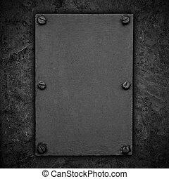 black rust steel texture