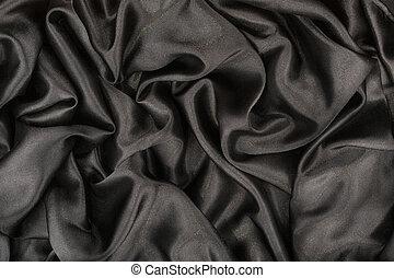 Black satin