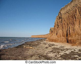Black Sea Beach in Crimea