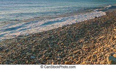 Black Sea coast sunset