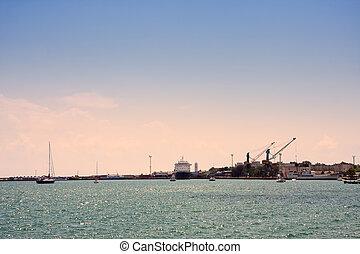 Black sea port