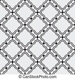 Simple black seamless wallpaper pattern vector illustration