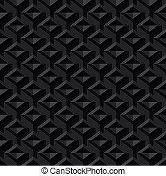 Black Seamless Texture Background