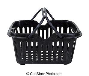 Black Shopping Basket
