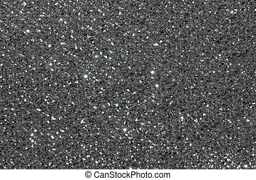 black silver glitter texture background - black silver ...