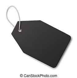 Black Slate Tag