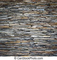 Black slate wall texture